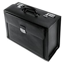 Travel Line Pilotenkoffer BRAGA TL/430212990 Echt Leder schwarz