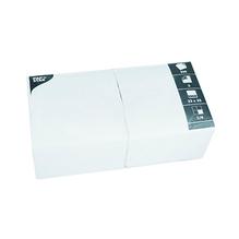 PAPSTAR Serviette 12484 33x33cm 3lagig weiß 250 St./Pack.