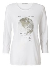 Shirt Weltkugel