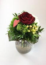 Blumen & Besonderes:Rose mit Vase