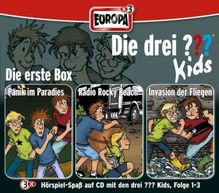 Die drei ???-Kids - Die 1. Box, 3 Audio-CDs. Box.1