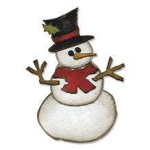 Sizzix Bigz Die Snowman, T.Holtz, SB-Blister 1Stück, 8,26x11,43cm