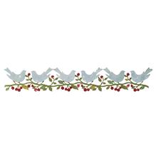 Sizzix Sizzlits Deco.Strip Garlands, Bower Birds, SB-Blister 1Stück, 30,16x5,08cm