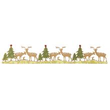 Sizzix Sizzlits Deco.Strip Garlands, Woodland Deer, SB-Blister 1Stück, 29,21x5,08cm
