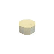 Pappmaché-Dose Achteck,FSC Rec.100%, 9,5x9,5x4,5cm