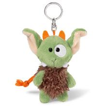 NICI Nici Plüsch 'Monster Jipii' grün/braun 10cm Bean Bag