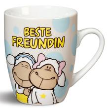 NICI Porzellan Tasse 'Beste Freundin'