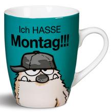 NICI Porzellan-Tasse 'Ich hasse Montag!!!'