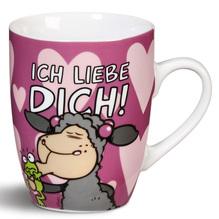 NICI Porzellan-Tasse 'Ich liebe dich!'