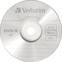 Verbatim DVD-R 43548 16x 4,7GB 120Min. Spindel  50 St./Pack.