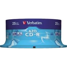 Verbatim CD-R 43352 52x 700MB 80Min. Spindel 25 St./Pack.