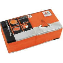 FASANA Serviette 217673 24x24cm 3lagig orange 250 St./Pack.