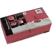 FASANA Serviette 217675 24x24cm 3lagig bordeaux 250 St./Pack.