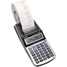Canon Tischrechner P1-DTSC 2494B005AA 12Z. Netz/Batterie si