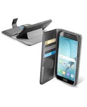 Buchklapptasche Handy-Klapptasche für Galaxy A5 (2017) schwarz