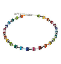 Geo Cube Collier multicolor