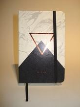 Notizbuch marmoriert