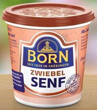 Born Zwiebelsenf 200ml Becher