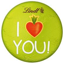 Lindt Möhren-Taler 'I Love You!', 30g