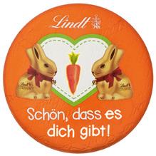 Lindt Möhren-Taler 'Schön, dass es dich gibt', 30g