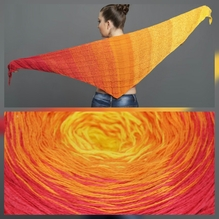 BOBBEL - Farbverlaufsgarn - 800m/200g - 50%BW/50%Poly (24)