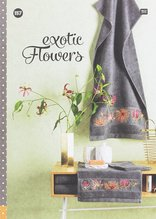 RICO Design 157 - Frottier - exotic Flowers
