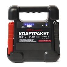 DINO KRAFTPAKET 12V+24V Starthilfe - 24000mAh 1000A