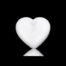 Engelsrufer Klangherz weiß ERS-01-HEART-L