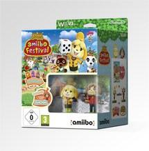 Wii U Animal Crossing: amiibo Festival + 2 Figuren + 3 Karten