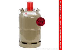 1 x Propangas Flasche 11kg ungefüllt  geprüft bis Ende 2027