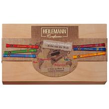 Heilemann 'Holzkiste mit Sticks Ursprung' Mix Edelbitter & Edelvollmich, 480g