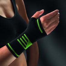 Bort ActiveColor Sport Daumen-Hand-Band.L schw/gr. 1 St