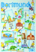 Dortmund-Postkarte von H. Schütte-Hanser