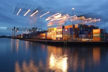 Container Terminal im Dortmunder Hafen