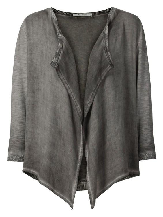 Jacke Schlusen Überwurf, 3/4 Farbe: Kreide cold dye