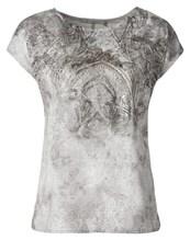 Shirt Paisley Ausbrenner, Rundhals 1/4