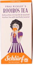 Schlürf Tee Büdel Frau Ricklef´s Rooibos mit Vanille Karamell