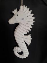 Deko-Figur 'Seepferdchen' zum Aufhängen