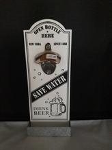Kapselheber-Flaschenöffner mit Kapsel-Auffangbehälter