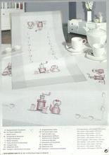 Rico Stickpackung - Mitteldecke 90x90cm - vorgezeichnet - Plattstich