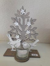 Deko-Bäumchen mit Teelicht