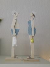 Deko-Figuren-Paar 'Bade-Paar'