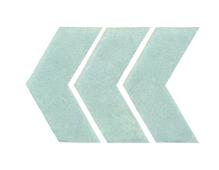 Applikationen - Patches - zum Aufbügeln - 3 Reflexecken