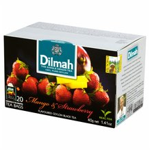 Dilmah Schwarzer Ceylon Tee Mango Erdbeer