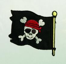 Applikationen - Patches - zum Aufbügeln - Piratenflagge