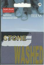 Applikationen - Patches - zum Aufbügeln - Stone Washed