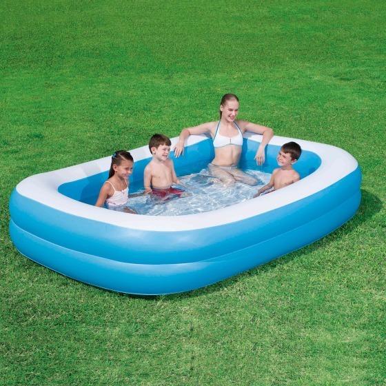 Family Pool blau ca. 262cm * 175cm * 51cm
