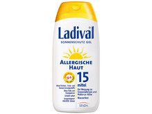 Ladival allergische Haut Gel LSF 15 200ml