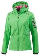 CMP Softshelljacke  Damen pink und grün