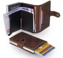 Secrid RFID Miniwallet Card Protector Made in Holland verschiedene Farben Herren Damen Börse mit Druckknopf